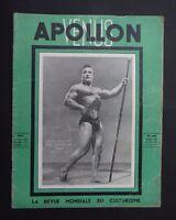 Magazine revue VENUS APOLLON EIFERMAN n°26 1950 muscle bodybuilding culturisme