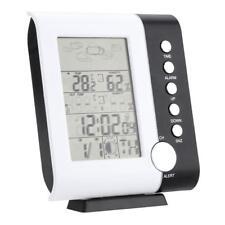 Termómetro de reloj inalámbrico Termómetro higrómetro Humedad pantalla