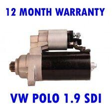 VW POLO 1.9 SDI 2001 2002 2003 2004 2005 2006 2007 - 2015 RMFD STARTER MOTOR