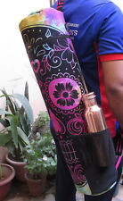 Human Skull Multi Yoga Mat Carrier Bag With Free Copper 1Ltr. Pure Water Bottle