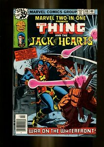 MARVEL TWO IN ONE 48 (9.6) JACKS OF HEARTS MARVLE (b015)