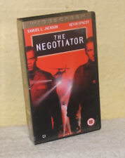 The Negotiator - Widescreen New & Sealed VHS - Samuel L. Jackson, David Morse