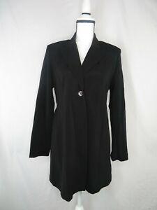 Womens Mimi Maternity Black Jacket Size M Medium Coat Blazer Career