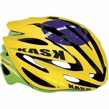 Kask Vertigo Cycling Bicycle Bike Helmet Limited Edition Brazil Flag size MEDIUM