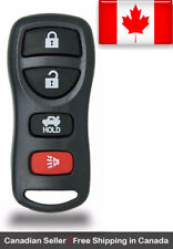 1x New Replacement Keyless Entry Remote Control Key Fob For Nissan KBRASTU15