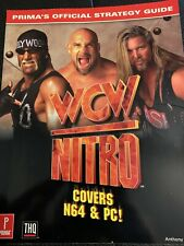 WCW Nitro Prima Strategy Guide Book N64, PC