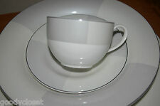 MIKASA ENCHANTED PEARL 5 PC SETTING DINNER SALAD SOUP CUP SAUCER UNUSED W LABELS