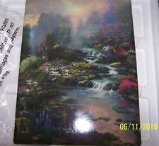 The Bradford Exchange Thomas Kinkade Reflections Of Light Plate A Winding Stream
