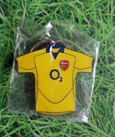 acc589) Official Licensed Football  Arsenal  Metal Keyring Key Ring  BNIP