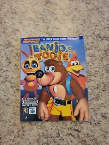 Banjo Tooie The Official Nintendo Player's Guide N64 Strategy Nintendo Power!