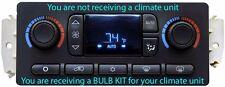 BULB KIT DIY 03 04 05 06 Chevy GMC Silverado Sierra Tahoe Auto Climate Control
