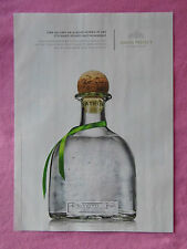 2013 Magazine Advertisement Page Featuring Patron Tequila Bottle Cork Nice Ad