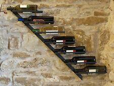 Weinregal Metall Diagon Rechts 100 cm Flaschenhalter Flaschenständer Wandregal