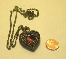 True Wicca Blessed Pendant/Necklace  Attract True Love! Angel Wings!