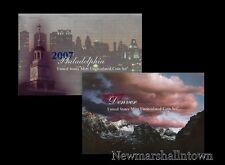 2007 P+D U.S. Mint Set ~ Sacagawea Kennedy Statehood Roosevelt Jefferson Lincoln