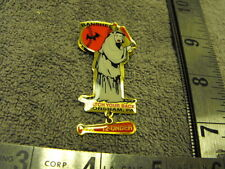 "2001  Horsham Pa. BANSHEES "" Watch Your Back"" 12u Girls Fast Pitch Softball  Pin"