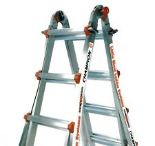 26 1a Classic Champion Little Giant Ladder Bundle Brand New