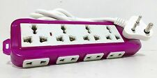 Extension Cord 4 Sockets 3 Pin + 8 Sockets 2 Pin Multi Plug Board Power Strip
