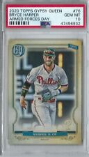 Bryce Harper PSA 10 (POP 1/1!) '20 Topps Gypsy Queen Armed Forces Day Variation