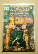 Sgt. Fury and his Howling Commandos #62 (1963 1st Series) Silver Age Comic Book!