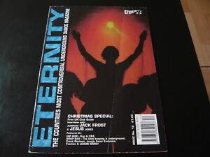 ETERNITY ISSUE NO 12...UK RAVE CULTURE ACID HOUSE DANCE MUSIC FANZINE MAGAZINE