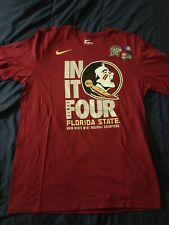New Nike Florida State University Tshirt  Size L Color Maroon
