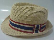 LEVIS Trilby Hat Size S Summer Beach Sun straw