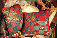 Holiday Pillows Quilt Pattern Pieced MA