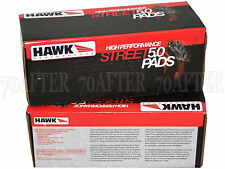 Hawk Street 5.0 Brake Pads (Front & Rear Set) for 09-13 VW CC 2.0T FWD