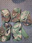 US Military MOLLE II DOUBLE MAG POUCH Magazine Pouch WOODLAND CAMO VGC