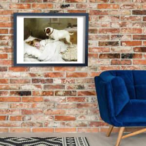 Charles Burton Barber - Time to Wake Up Wall Art Poster Print