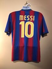 Lionel Messi #10 FC Barcelona 2009/10 Unicef Home Jersey | Sz XL | Made in Italy