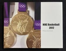 NIKE Basketball 2012 Operation Gold Women's USA Olympics Gold Medal Team Book