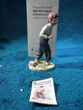 "Norman Rockwell Nr-1 Redhead 1973 Dave Grossman 5.5"" Figurine with Box"