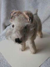 Sweet Looking Vintage Mohair Terrier Dog