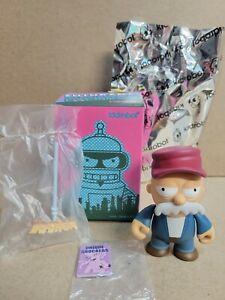 Kidrobot x Futurama Good News Everyone: 2/24 Chanuka Zombie *RARE !*
