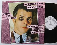 "IAN DURY & THE BLOCKHEADS  (Maxi 45T 12"")   REASONS TO BE CHEERFUL"