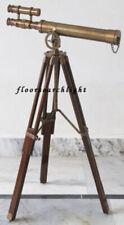 """Antique Griffith Astronomical Double Barrel Telescope 18"""" Vintage Nautical"""