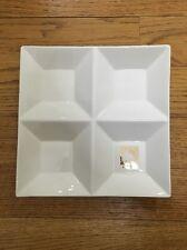 Hello Kitty Square White Ceramic Plate [LP2]