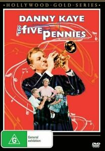 The Five Pennies (Danny Kaye) DVD BRAND NEW SEALED 💥💥