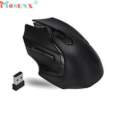 Gaming regolabile 3200 DPI 2.4 GHz ottico avanzato Wireless Gaming Mouse (Int)