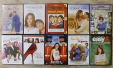 Set Of 10 Dvds - One Day - Management - Elizabethtown - First Wives Club +