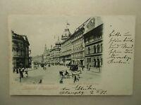 Ansichtskarte Ungarn Budapest Budapeströl  josefs u. Elisabethring 1899