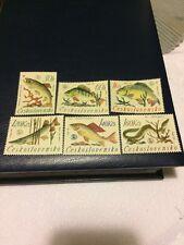 Czechoslovakia stamps 1966 MNH World Angling Championship, Svit
