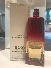 Hugo Boss Intense Shimmer Edition Women Perfume 3.0oz 90ml EDT Spray New No Box