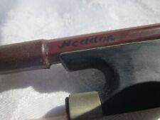Vintage signed heddon Violin Bow