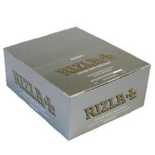 RIZLA SILVER KING SIZE SLIM ULTRA THIN CIGARETTE SMOKING ROLLING PAPERS ORIGINAL