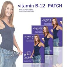 30day Vitamin B12 Energy Patches Guarana Garcinia cambogia Weight Loss Patches
