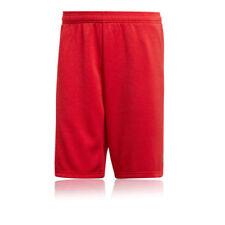 Rote kurze adidas Herren-Sporthosen