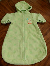 Hooded Terry Bath Towel Gown Sack Baby Boy Girl 0-9 Months Babies R Us Duck